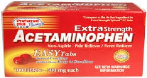 Acetaminophen 125mg