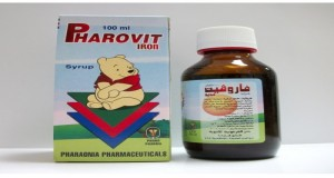 Pharovit Iron Syrup 12%