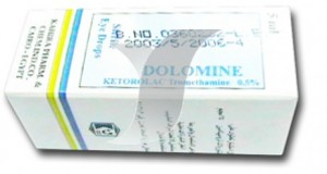 Dolomine eye drops 25mg