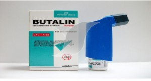 Butalin inhaler
