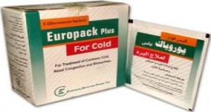 Europack plus for cold 500mg