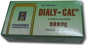 Dialy-Cal 989mg