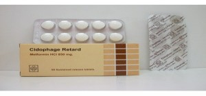 Cidophage Retard 850mg