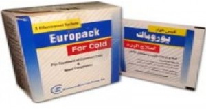 Europack for cold 500mg