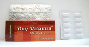 Day Vitamin with Iron 18mg