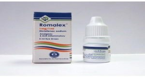 Romalex eye drops 1mg