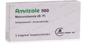 Amrizole Vaginal 500mg